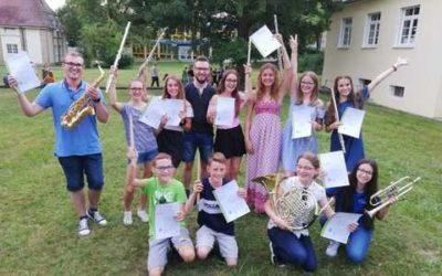 Jungmusiker Leistungsabzeichen erfolgreich absolviert